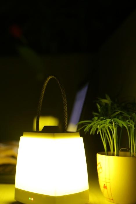 创意led智能手提充电多功能灯