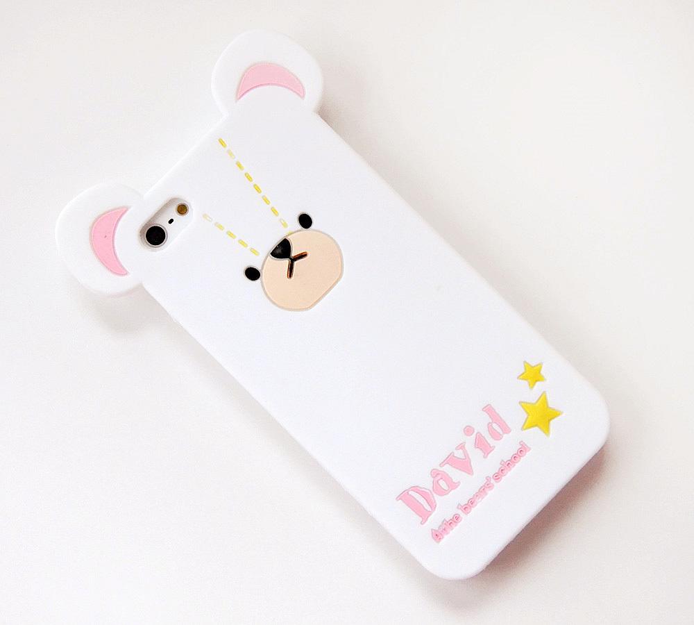 软硅胶小熊手机壳,可爱的小熊