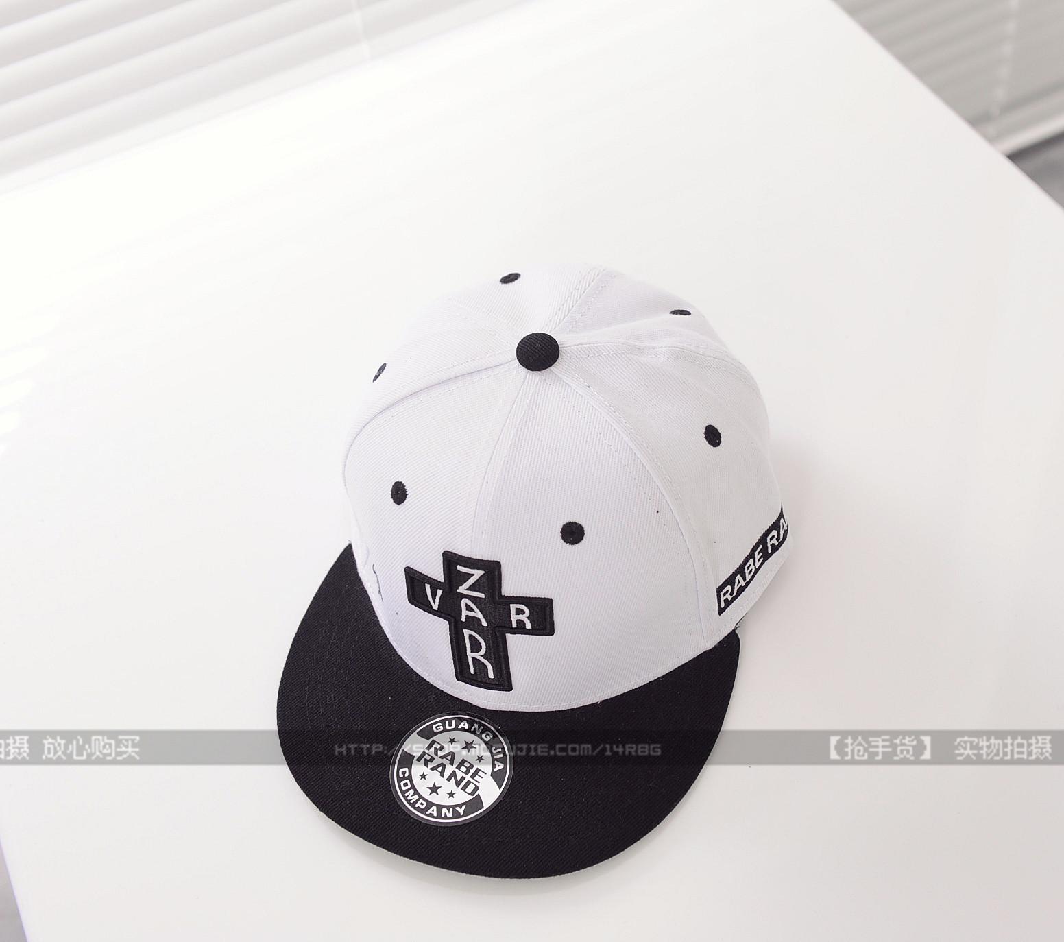 字母十字架 hiphop潮帽子
