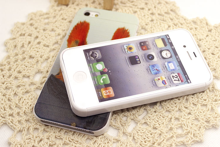 iphone三星呆萌动物手机壳