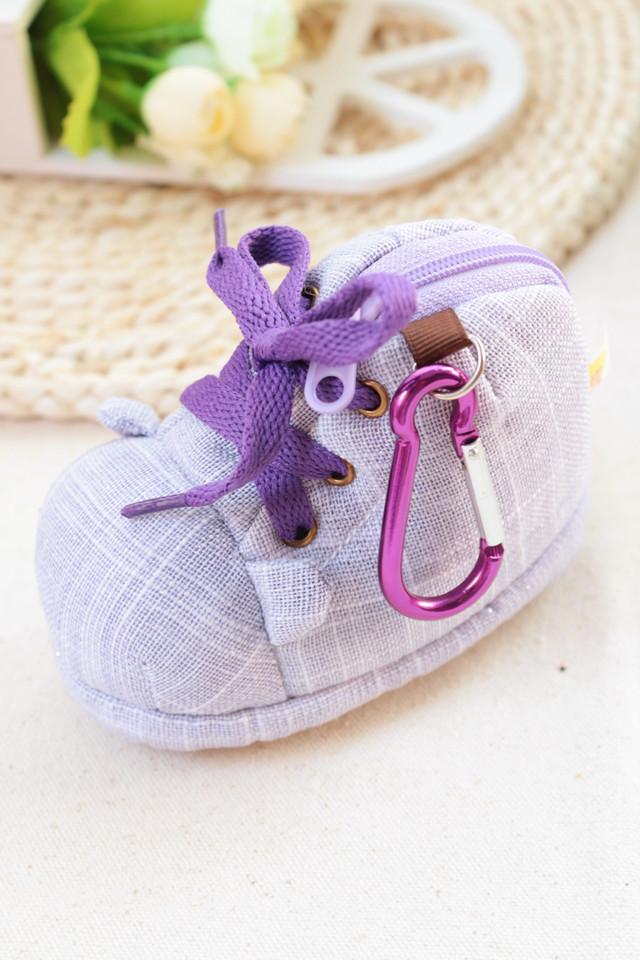 迷你鞋子造型可爱零钱包