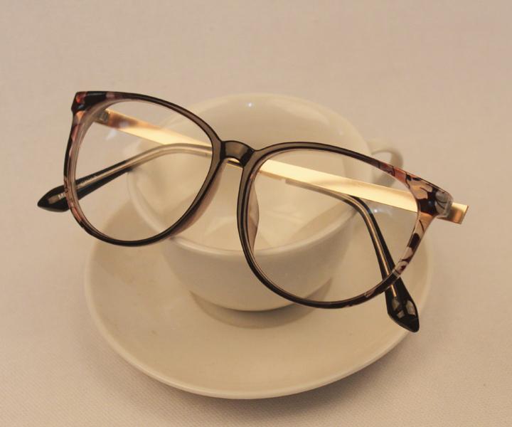2014新款韩版方形金属大框眼镜