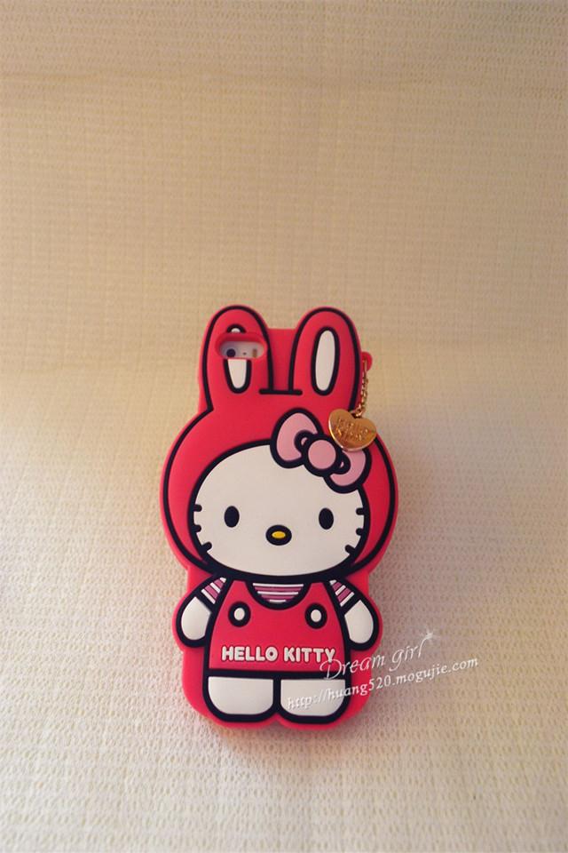 可爱hello kitty兔子猫手机壳-来自蘑菇街优店