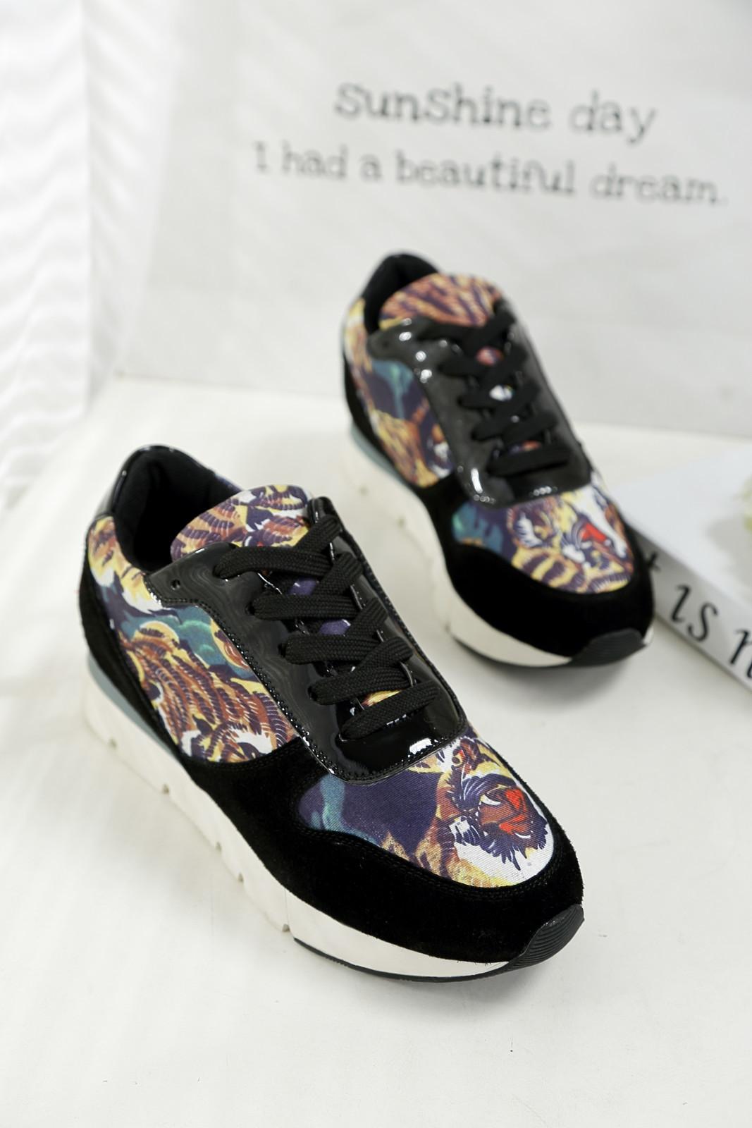 kenzo同款老虎运动鞋