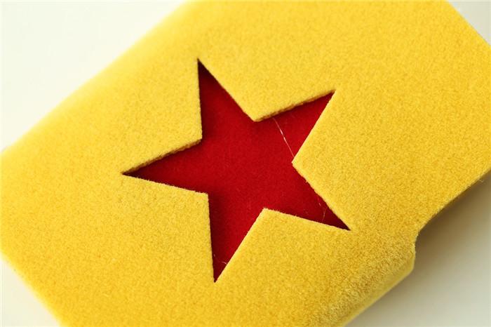 可爱五角星卡包-来自蘑菇街优店