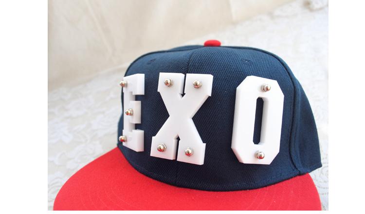 exo街舞棒球帽