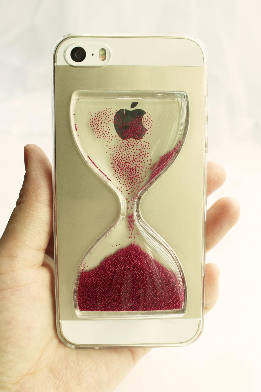 个性沙漏苹果手机壳
