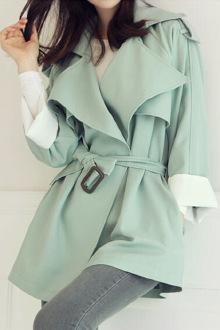 秋季新款韩版风衣外套