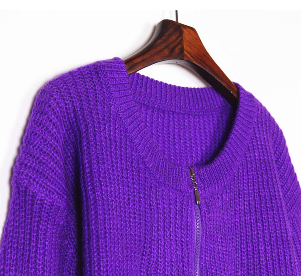 手工编织毛衣款式短款外衣款式多样韩版短外套