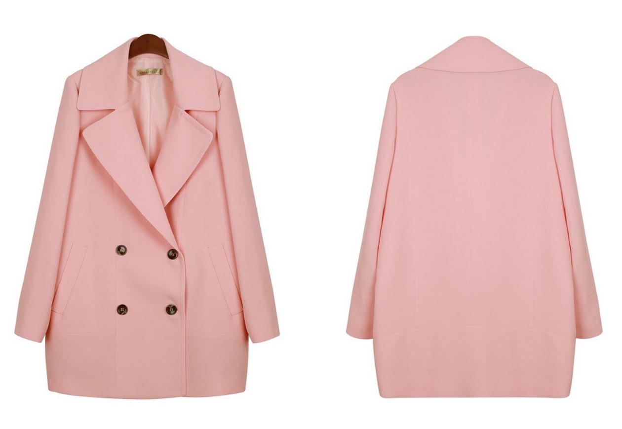 韩版西装大衣外套