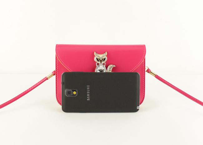 小狐狸信封款迷你手机零钱包