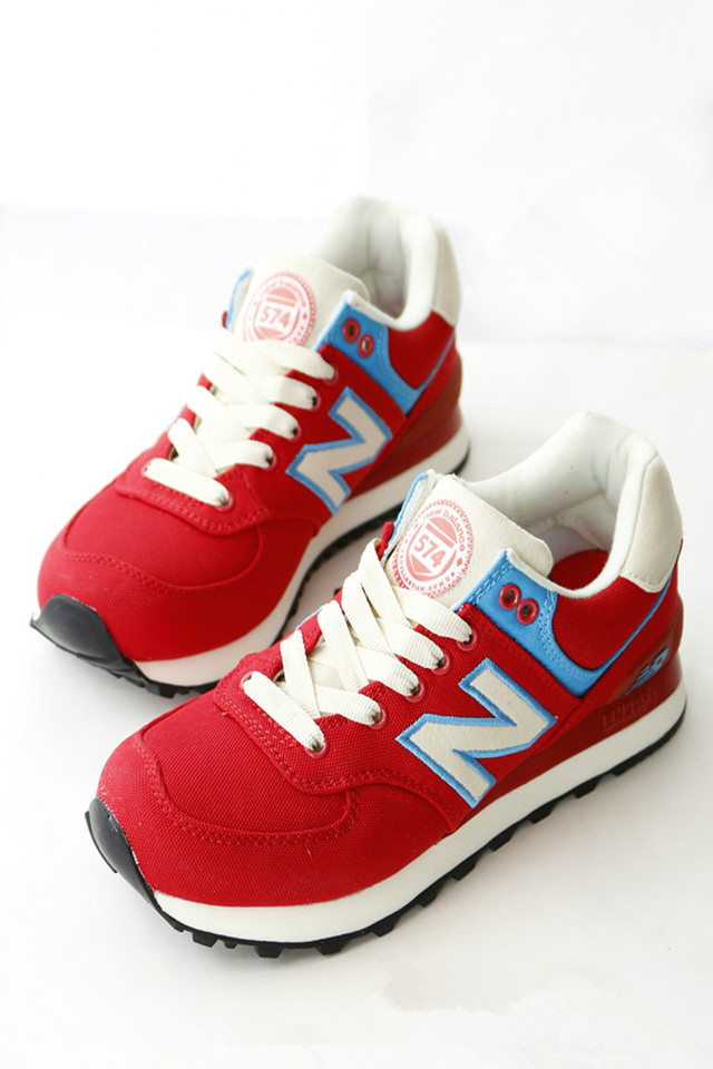 nb574 常春藤红色运动鞋