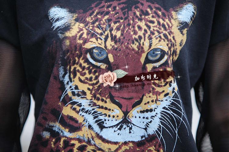 花豹通体纹身手稿分享展示