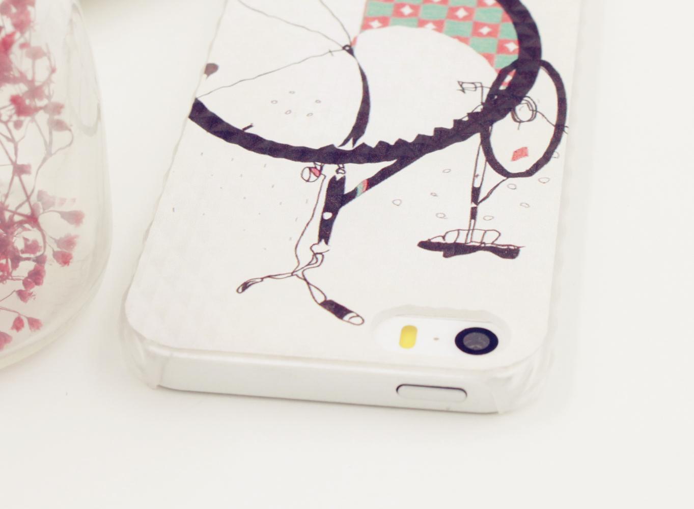 个性小清新原创苹果手机壳