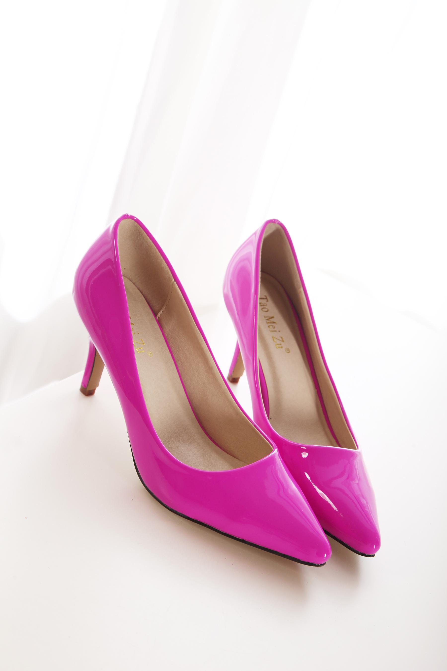 秋季新款韩版细跟高跟鞋