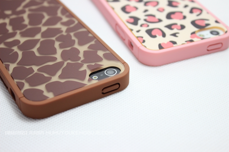 动物纹路iphone手机壳