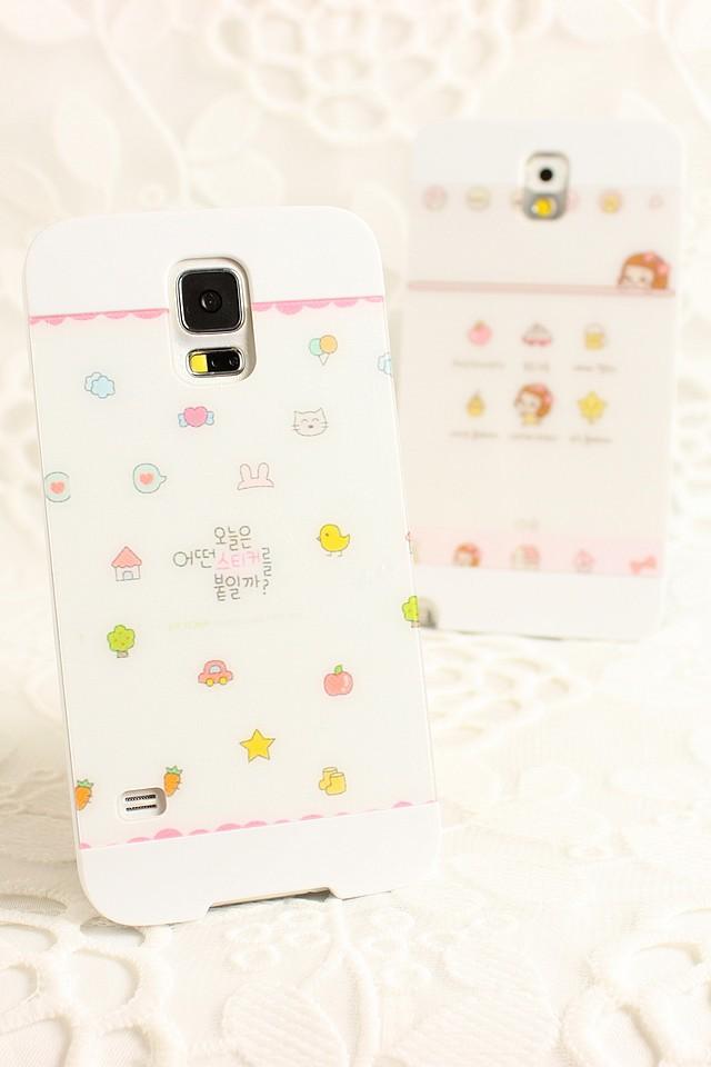 小可爱 亚克力iphone三星手机壳-来自蘑菇街优店