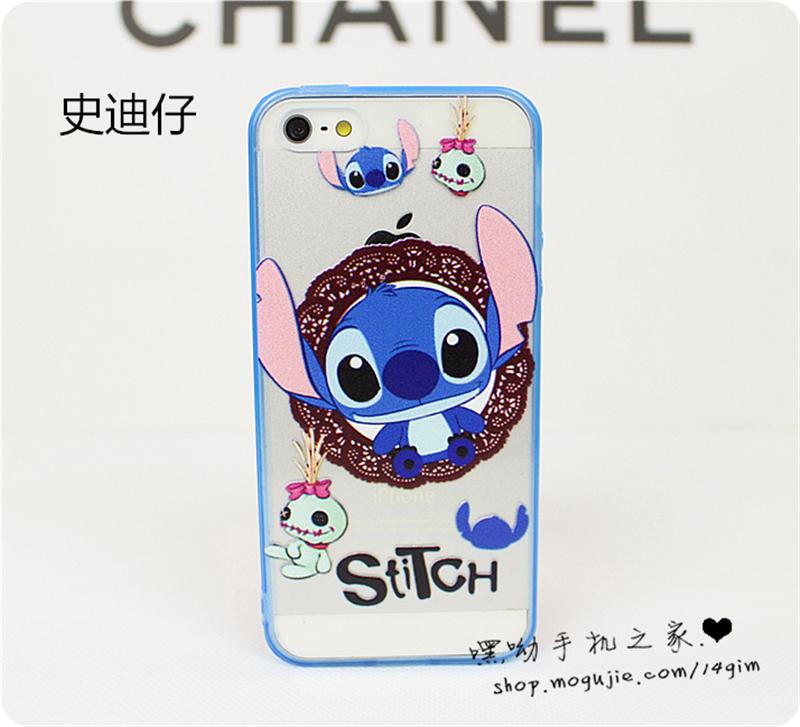 iphone系列迪士尼彩绘手机壳