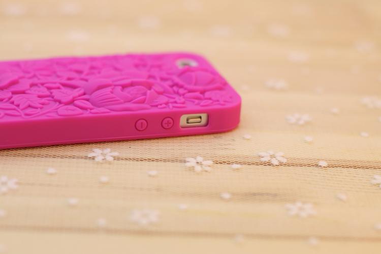 玫瑰牡丹雕花iphone壳