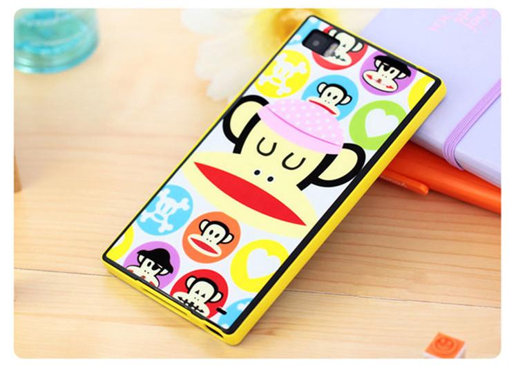 小米3小清新可爱卡通手机壳套