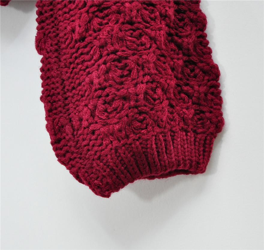 手织围巾镂空花