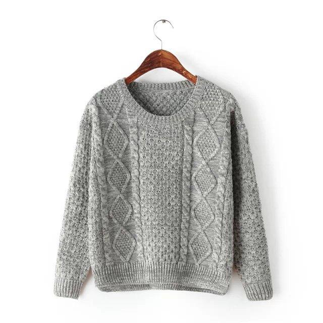 经典的圆领设计,简单大方时尚非常甜美,编织紧凑不易变形和起球,手感