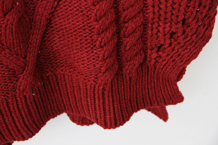 毛衣编织花样 围巾