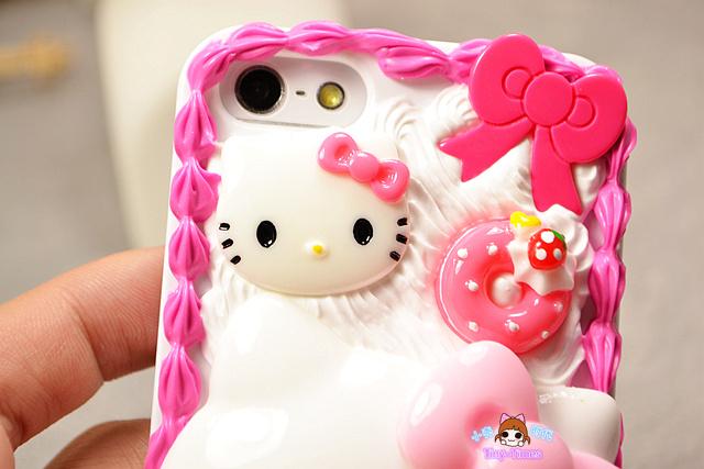 凯蒂猫&小熊维尼 手工奶油手机壳