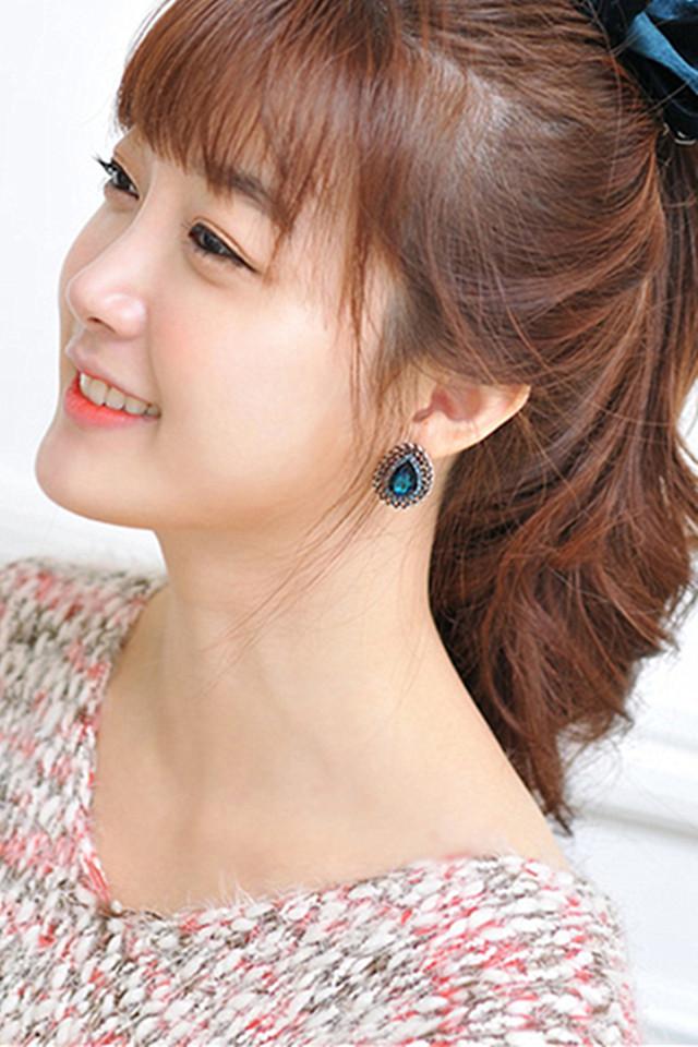 韩版个性复古可爱水滴耳钉