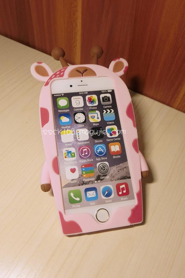 森系长颈鹿苹果手机壳
