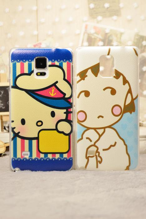 手机壳,三星,手机套,保护,壳,套,note4,n9100,可爱,凯蒂猫,kitty