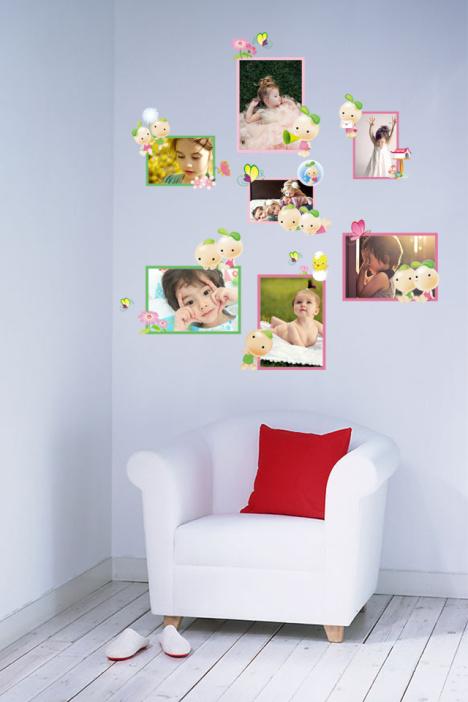 淘宝主图创意边框_幼儿园kt板绘画作品展示墙创意边框