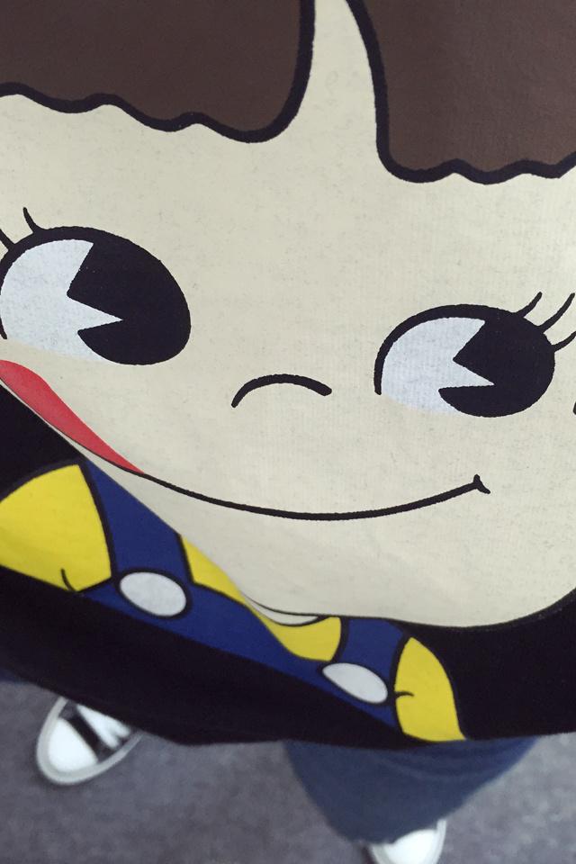 东大门休闲卡通可爱小孩短袖t恤