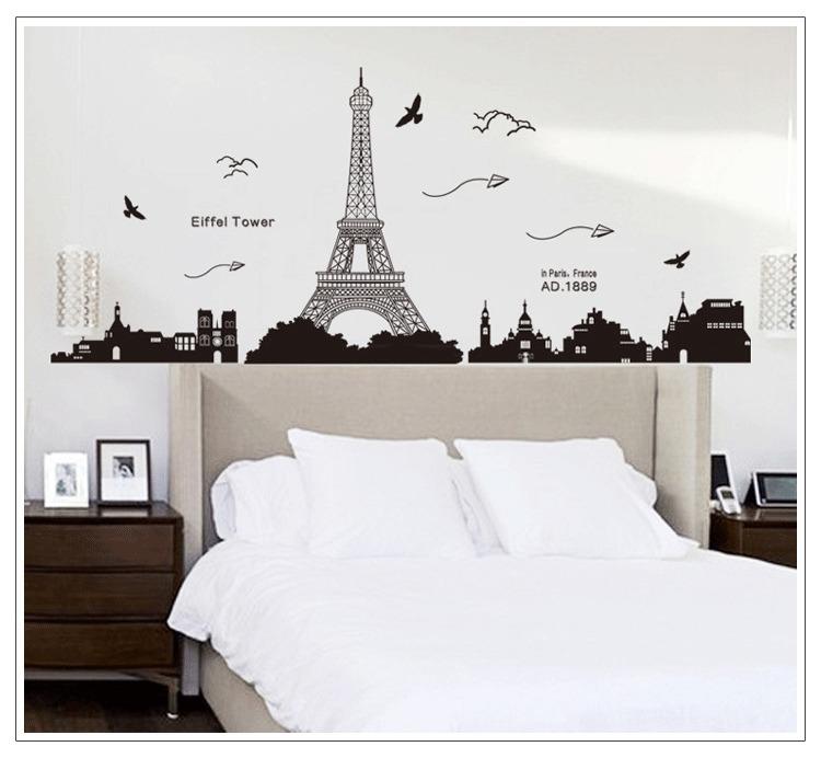 【宜家】巴黎埃菲尔铁塔墙贴