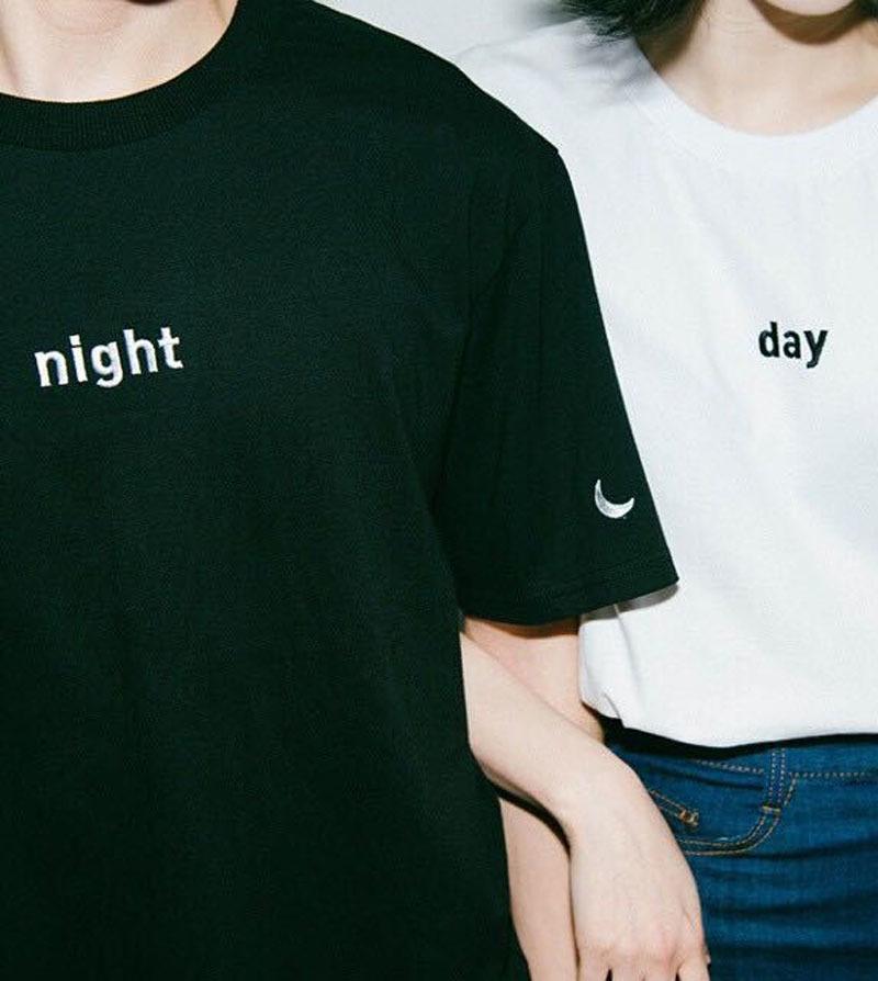 日系情侣闺蜜款t恤