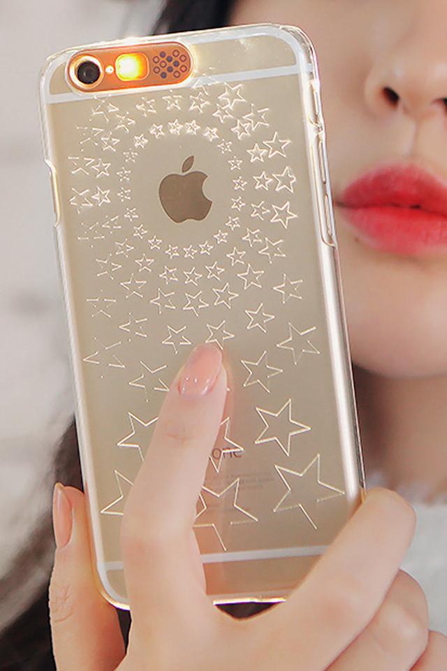 星星来电背光闪烁苹果手机壳