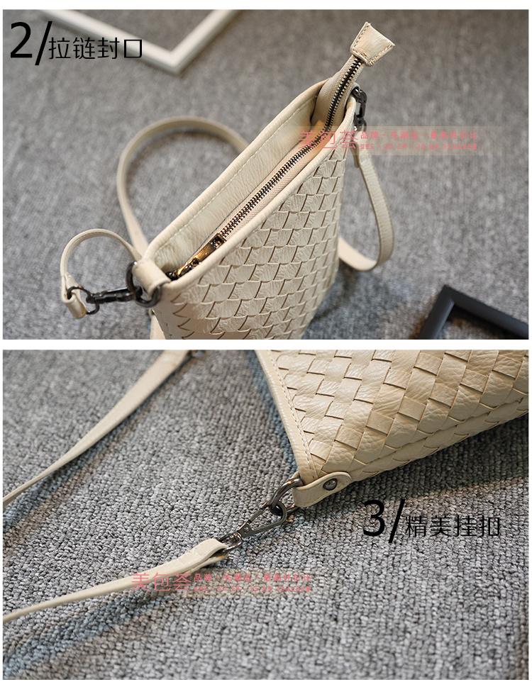 【实拍】手工编织小水桶包