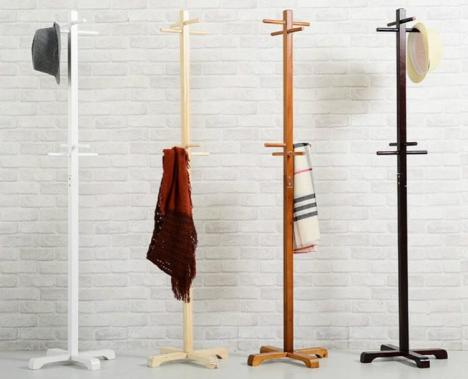 衣帽架落地客厅家用挂衣架现代简约卧室组装衣服架子