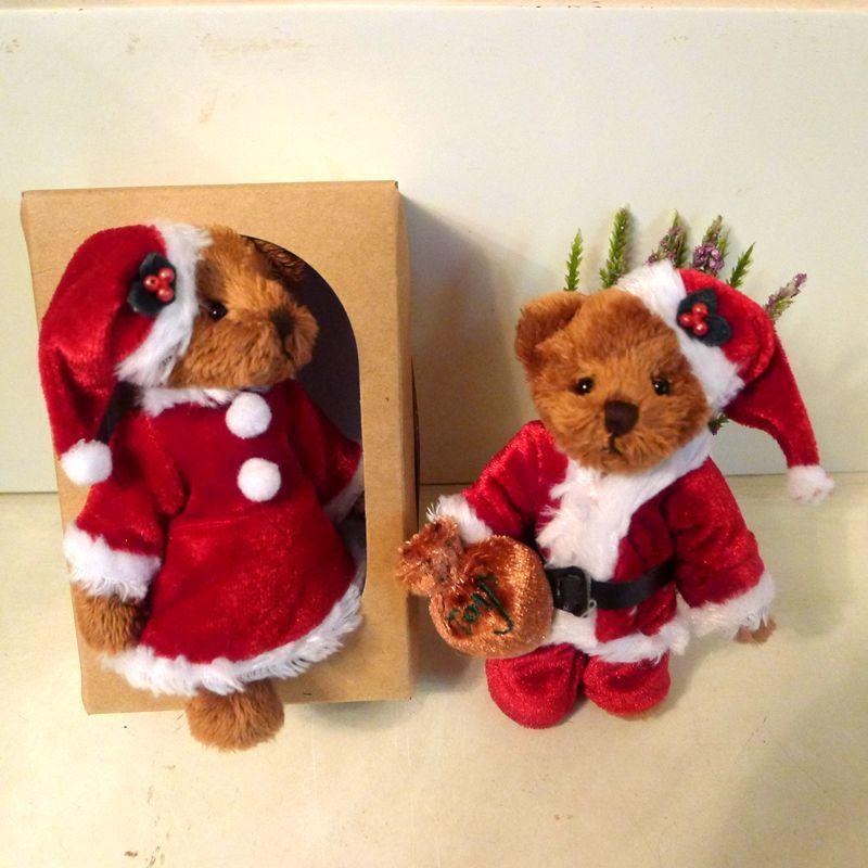 迷你泰迪熊 熊布娃娃可爱小熊 情侣熊 圣诞毛绒玩具生日礼物