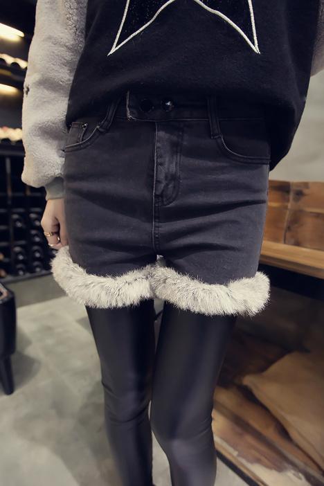 短裤,裤子,牛仔裤,冬季短裤,秋冬短裤,韩版,新款