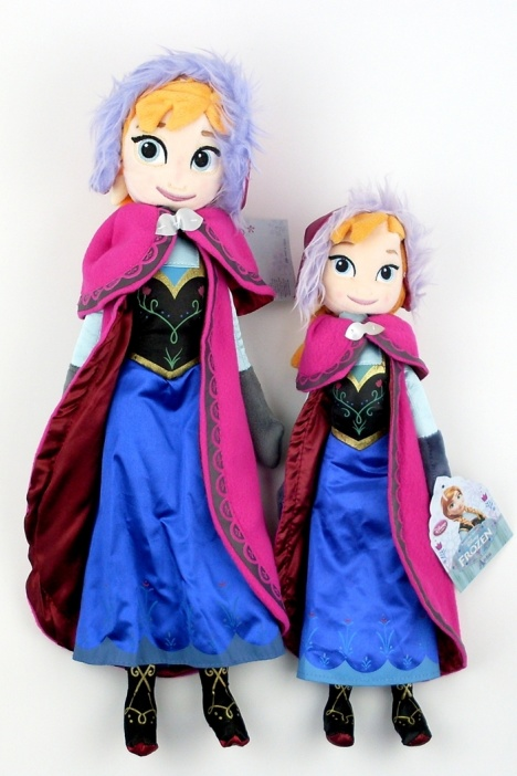 【frozen冰雪奇缘克斯托夫安娜爱莎公主毛绒玩具】