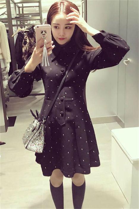 超级甜美可爱的冬季服装