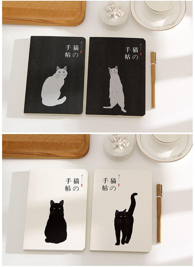 日式和风猫咪记事本100g