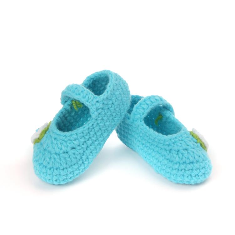 手钩儿童学步鞋 手工编织童鞋 防小孩着凉地板鞋子 两件包邮