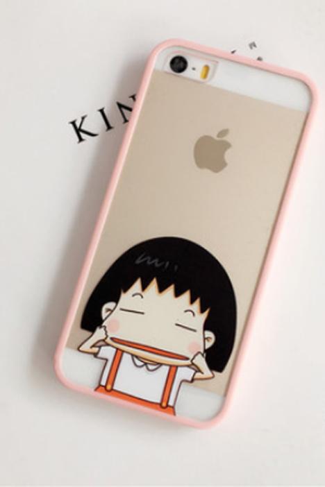 【日韩卡通可爱情侣苹果iphone5s6s6plus硅胶手机壳