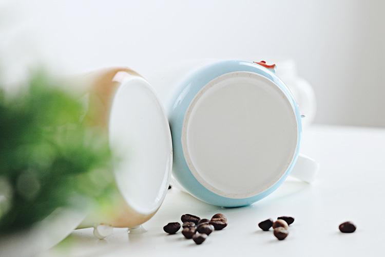 【手绘陶瓷手机支架马克杯】-家居-百货