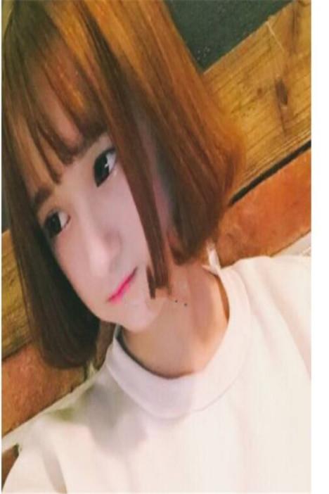 韩国女生空气刘海假发短发学生波波头内扣梨花头中长发整顶假发套