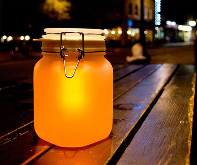 情人节创意礼品七彩阳光罐子