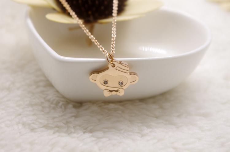 【超萌可爱小猴子项链】-配饰-配饰