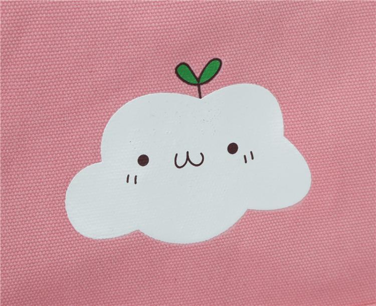 韩版学院风可爱云朵小清新中学生书包女双肩电脑背包新款